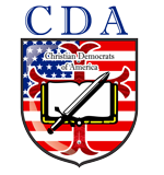 Christian Democrats of America Sticky Logo