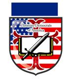 Christian Democrats of America Sticky Logo
