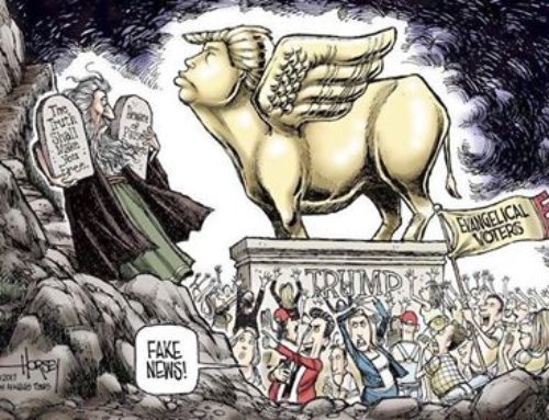 Your Tax Dollars at Work in Support of the Golden Calf